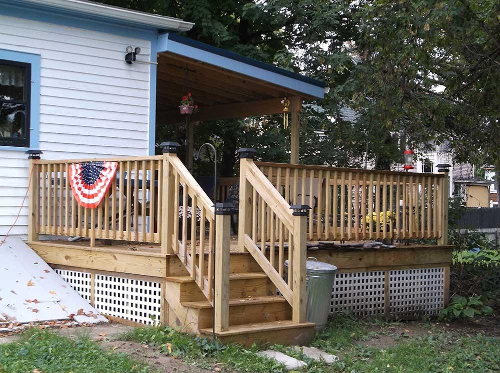 Decks american home remodeling for American remodeling